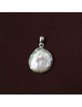 Colgante de Plata con  Perla